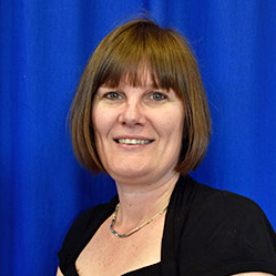 Mrs. J. Green, Headteacher at Baxenden St John's