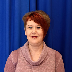 Mrs A. Jackson  Teaching Assistant at Baxenden St John's